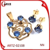 diamond jewelry sets factory artificial flowers vintage jewelry pendant set