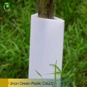 UV Resistance PP Corflute Tree Guards Plastic Plant Root Protection