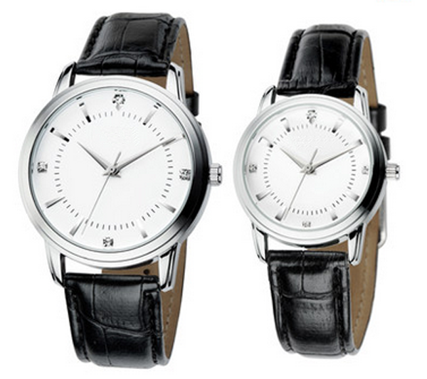 Genuine leather strap LoverQuartz Watches For Couple watches Online
