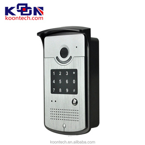 Doorbell intercom wireless with plant paging system