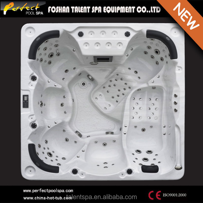 Hot sale!! Olina--6 adults luxurious outdoor spa/hot tub/bathtub with multiple massage for home and hotel