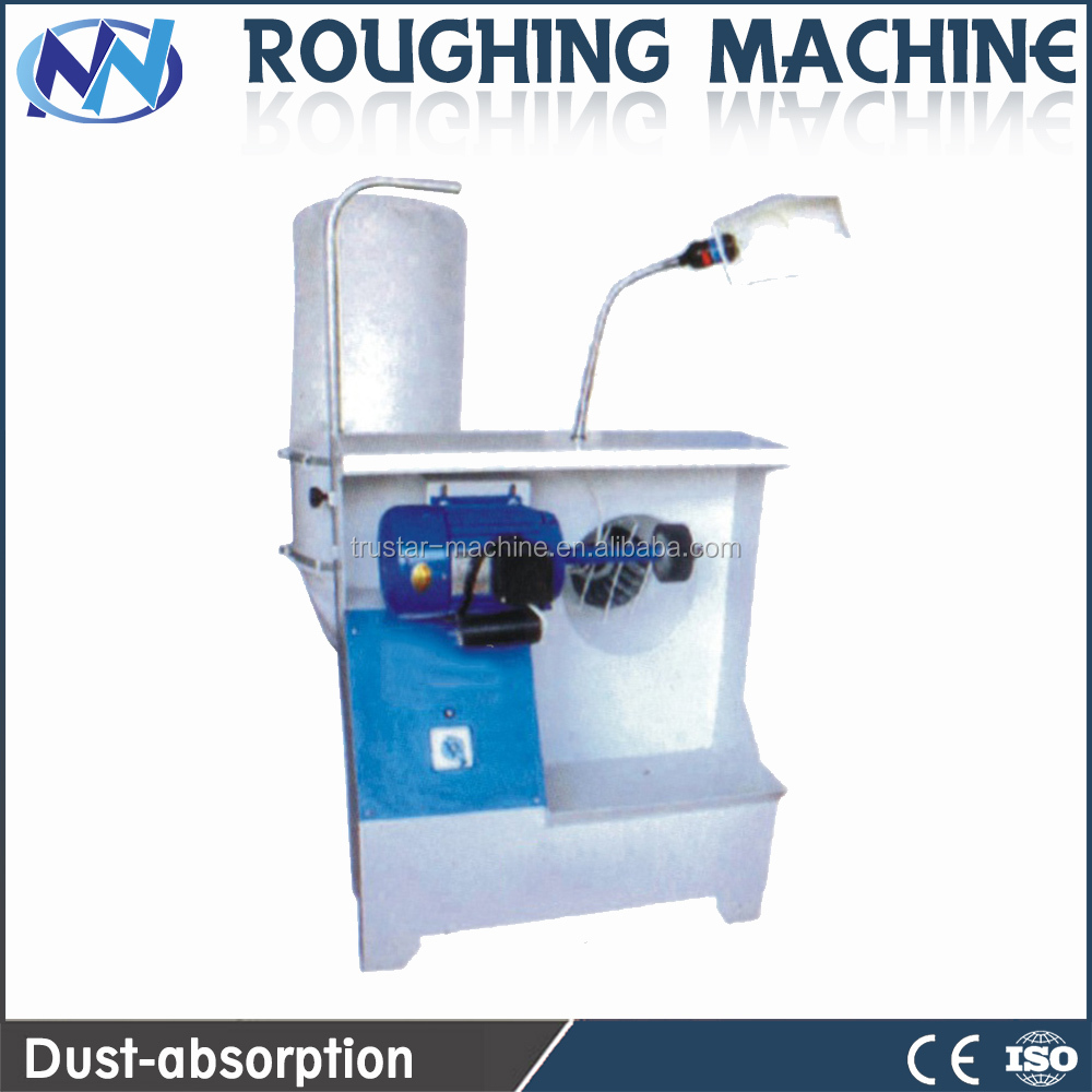 Leather Shoe Sole Outsole Edge Roughing Grinding Making Machine