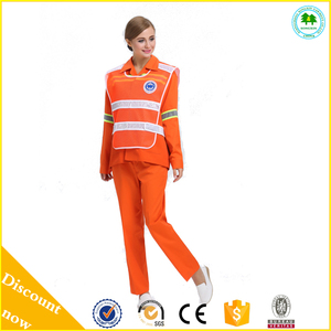 Good Quality Reflective Striped Overall Workwear Coverall