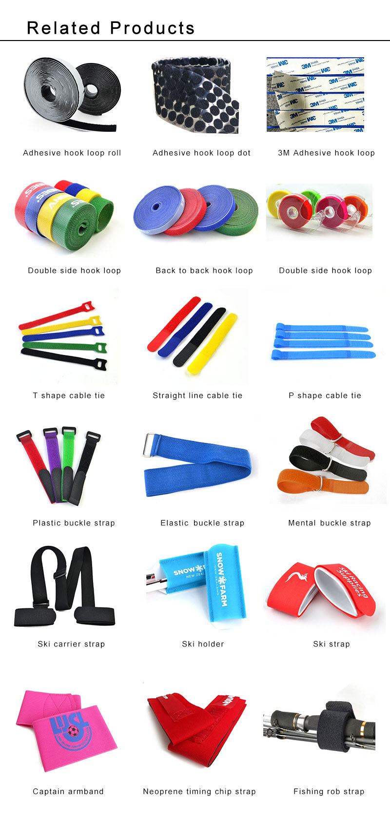 Book Belt Strap China USA UK Isale Nylon Webbing fasteneo Book Strap Used For Book functional promotional gifts