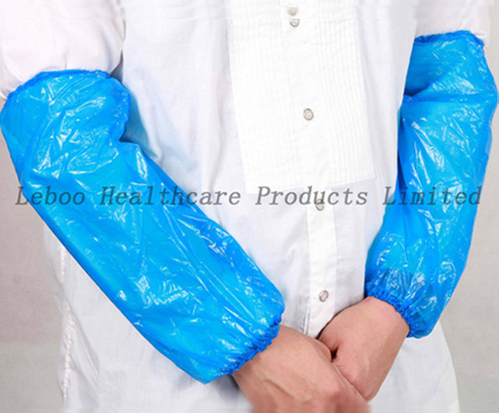Disposable Waterproof LDPE/HDPE/PE Sleeve Cover for Food Industry and Medical use