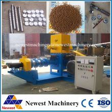 Hot sale china latest drying fish feed machine/fish feed pellet extruder machine price/small capacity floating fish feed machine