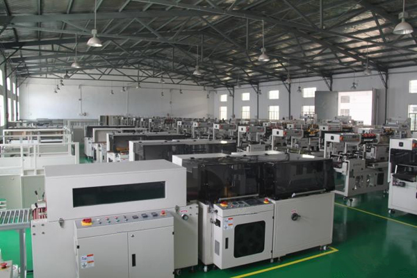 Cellophane packinging machine for big size or multi-box packing