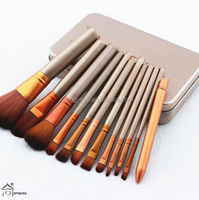 professional makeup brushes kid sets cheap cosmetic brushes Tool eyeshadow palette with box