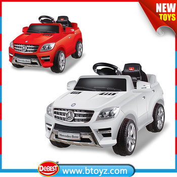 licensed mercedes benz ml 350 battery powered kids electric ride on car