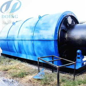 X-Ray Detection Tech. waste tyre rubber pyrolysis plant for oil