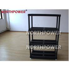 factory price 4 layer plastic shelf export to Eur.& Am