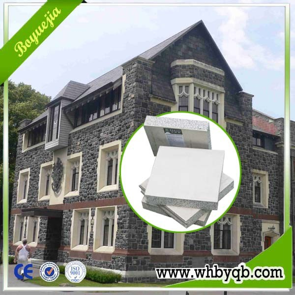 ISO 9001 CE approved eps wall blocks house prefabricated for sale