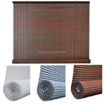 White Roll Up Blinds.Pvc Roll Up Window Blind Bamboo Chocolate White Color Buy Pvc Roll Up Window Blind Pvc Blind Roll Up Window Blind Product On Alibaba Com
