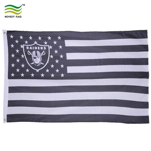 check out 49b3f bae41 NFL Oakland Raiders 3' x 5' Polyester Flag