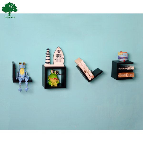 Amor forma pared moderna estante decorativo