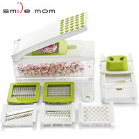 Smile mom Manual Vegetables Dicer Cut Mandoline Fruit & Vegetable Tools