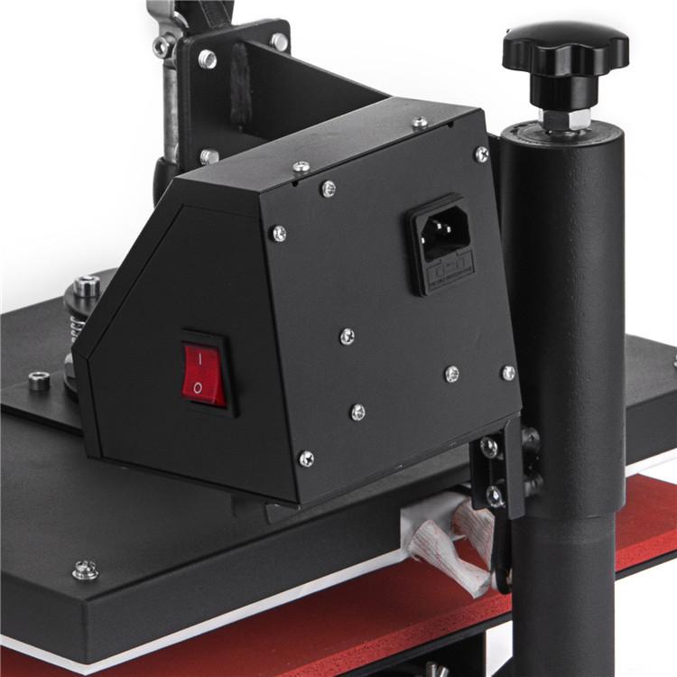 Camisa Máquina De Impressão Da Imprensa do Calor Máquina de Impressão Por Sublimação Digital multifuncional