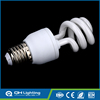 5w mini half spiral energy saving bulb led light bulbs and fluorescent