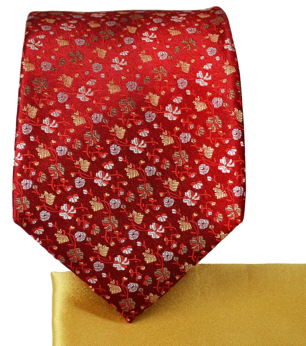 Mood Indigo and Violet 7-fold Silk Tie and Pocket Square