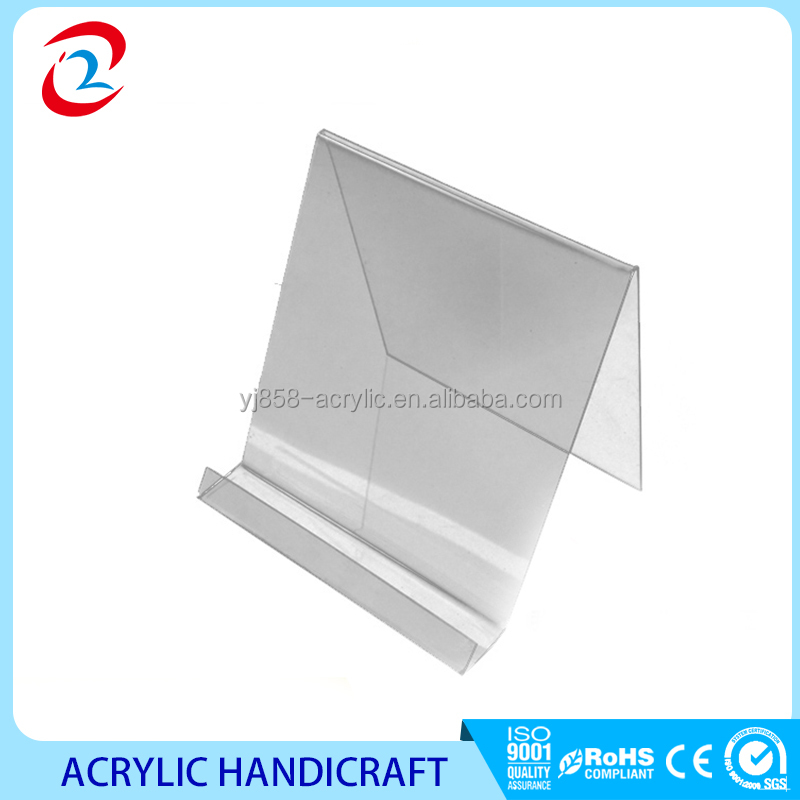 wholesale clear acrylic book display stand for a5, a4 size