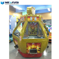 Neofuns 6 Players Coin Push Machine Gold Fort Cheap Coin Puser Game Machine for Sale