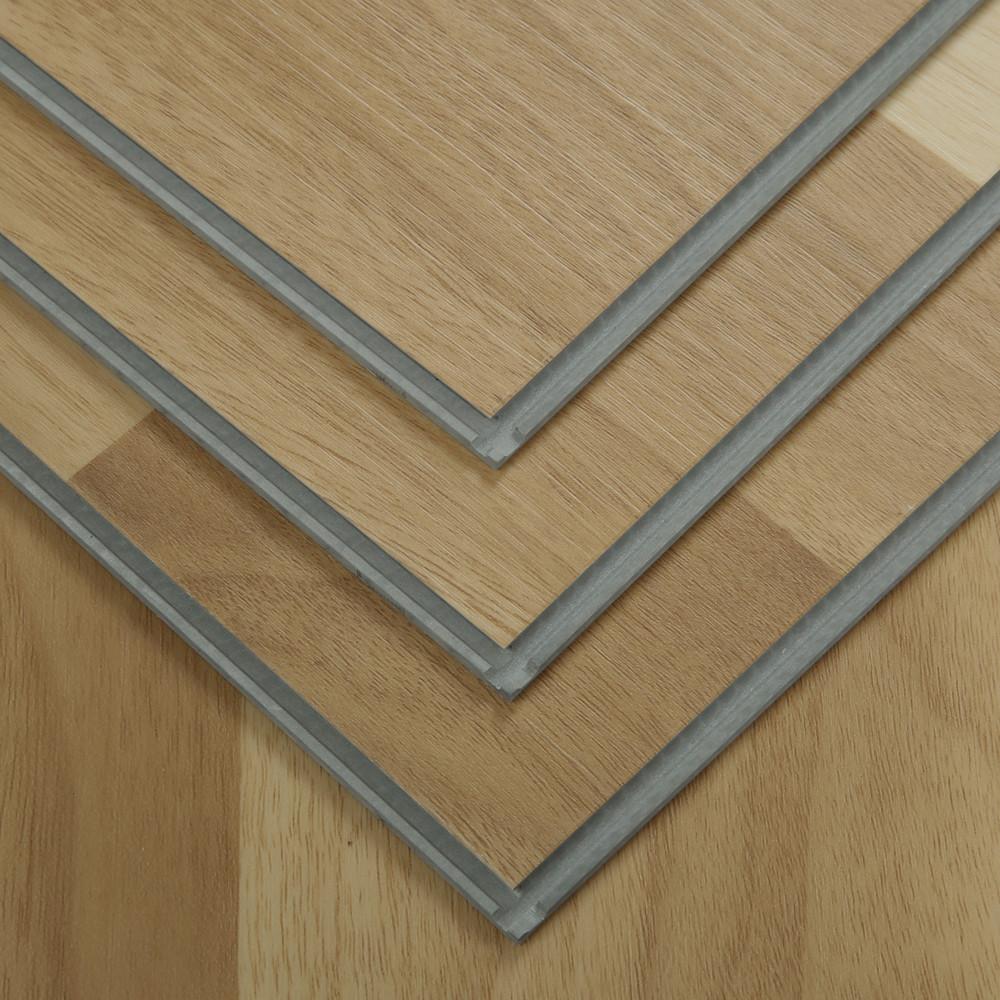 100% trinh nữ chống cháy pvc rvp spc lồng vào nhau nhựa kết cấu gỗ ván sàn