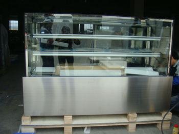 Kühlschrank Vitrine : Edelstahl optik kuchen schaufenster vitrine bäckerei kuchen