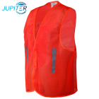 100% polyester roadway traffic safety reflective mesh hi-vis vest for roadway
