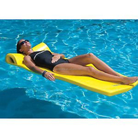 Swimming Pool Floats Vinyl Coated Dipping Swimming Recreaton Floating Mat Pool Water Lounger Floating Mat