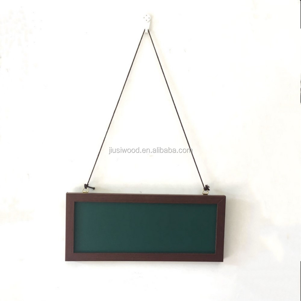 High quality Stand Rustic Recycled Wooden Chalkboard/blackboard with A Shelf
