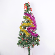 Huandi Cheap Bulk Christmas Gifts Tassel Garland Christmas Tree Parts Decoration Supplies