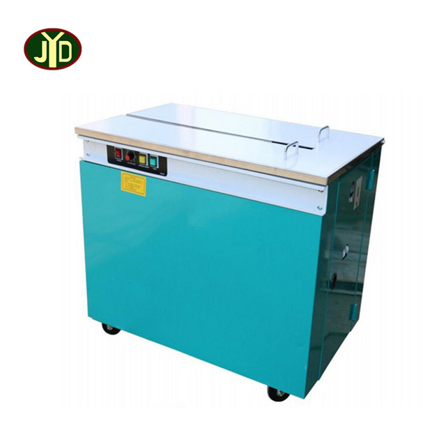 high quality table electric carton box pp belt bundle strapping machine for sale