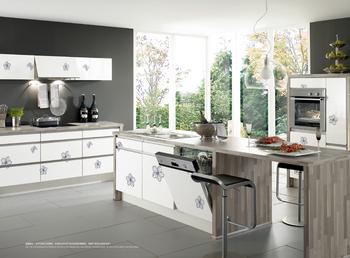 Witte lak keuken kast magnetron hoek bar meubeldesign buy