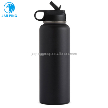 High quality 1200ml 40oz water bottle double wall metal vacuum insulated stainless steel water bottle flasks manufacturer K-2-1