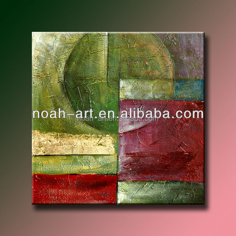 handmade islamic abstract oil painting textured art on canvas