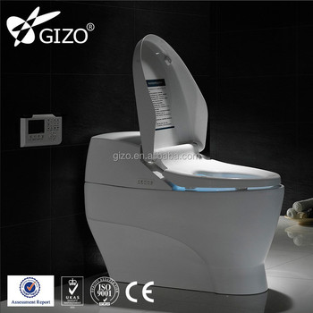 Gizo LZ-0702z Household Size Electric Toilet Push Button Operation