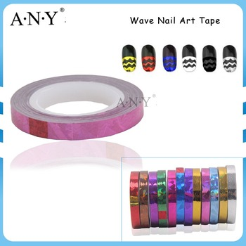 Elke Golf Nail Art Diy Decoratie Plastic Roze Nail Strippen Sticker
