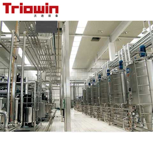 Industrial soya liquid milk making processing equipments for dairy production line plants