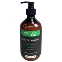 Pure Argan Oil Hair Conditioner, Pure and Natural for All Hair Types, Sulfates Free, Parabens
