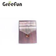 Mini Kalimba Mbira <span class=keywords><strong>Piano</strong></span> 17 Touches Couleur Unique et repose-Main Courbe Design Rétro style <span class=keywords><strong>tuning</strong></span> marteau et étude l'instruction