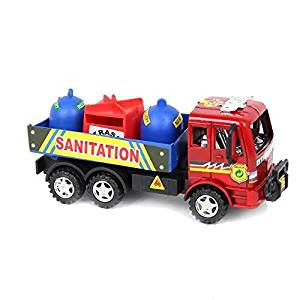 Dazzling Toys Garbage Truck Car with Trash Can | Dazzling Toys