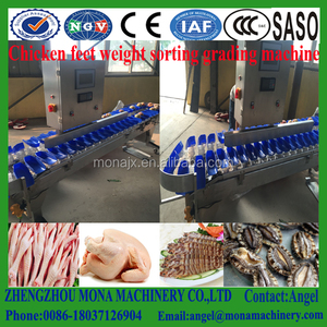ISO and CE approved waterproof high-speed digital weight sorting machine for sale