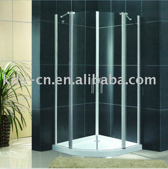 Free Standing Tempered Glass Bath Shower Room on sale