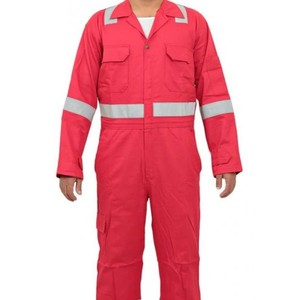 Hot! Men's Flame Resistant Deluxe Nomex Insulated Coverall SL0508