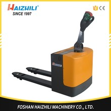 Alibaba china Hydraulic plastic 1.5 tons electric pallet truck
