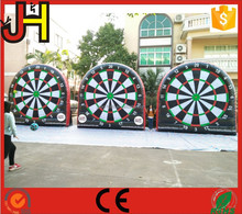 4m inflatable foot darts games, giant inflatable soccer darts