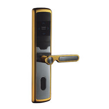 HS-L105 hafele hotel electromechanical door lock with key and card