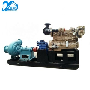 horizontal high head diesel sand dredge booster pump for sand dredging