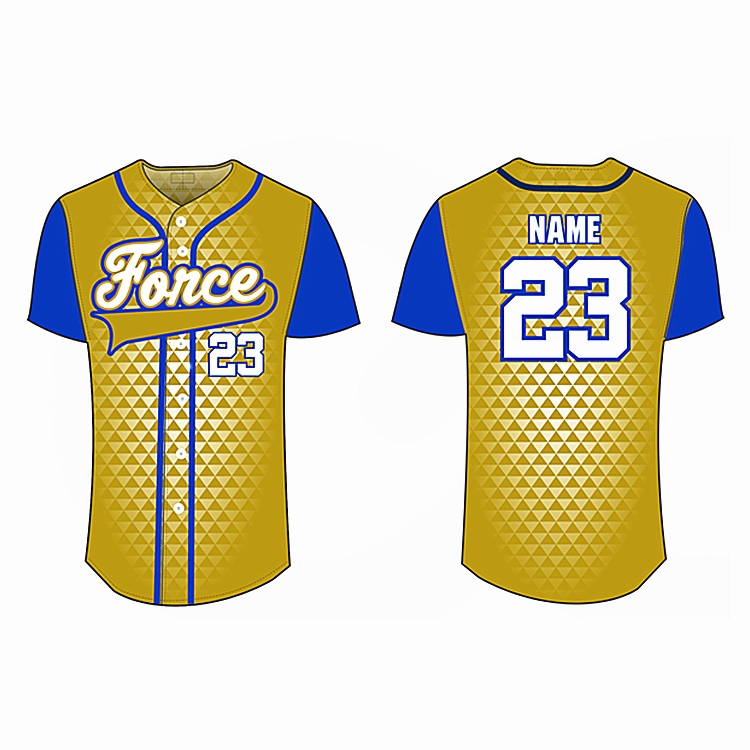 Youth mens sublimated embroidery stitched custom baseball jersey