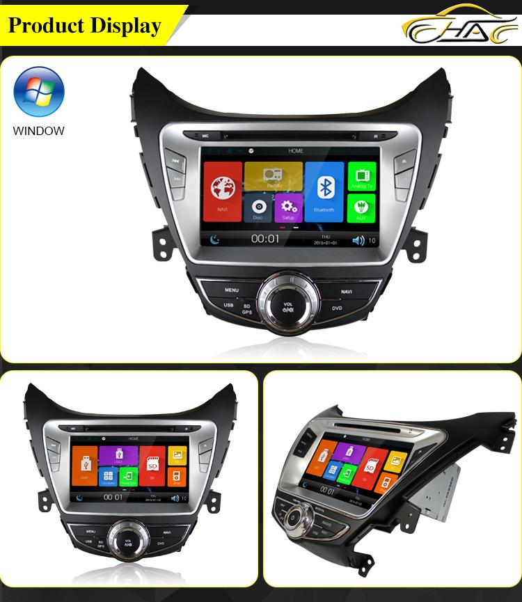 Car Navigator Car Audio System For Hyundai Elantra 2011